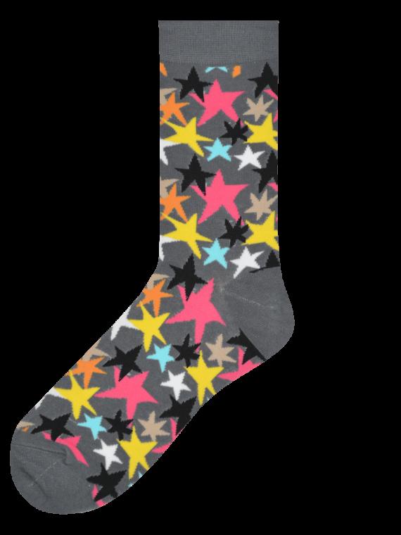 Medias Locas calcetines divertidos de diseño de estrellas Freaky Socks