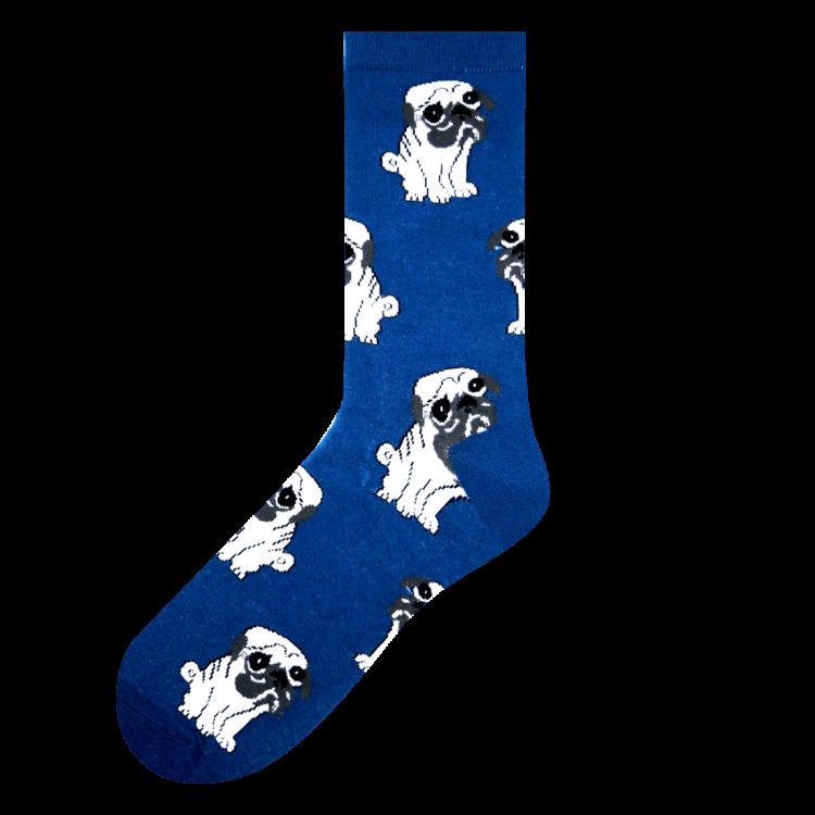 Medias Locas calcetines divertidos de diseño de pugs Freaky Socks