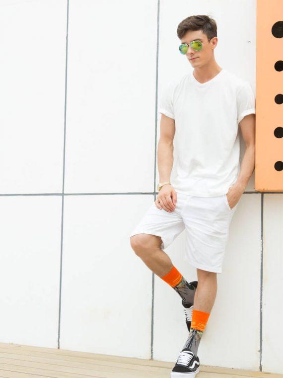Medias locas calcetines de diseño el grito de Munch 1 Freaky Socks