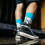 Medias locas calcetines de diseño gran ola de kanawaga Freaky Socks