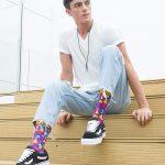 Medias locas calcetines divertidos Freaky Socks de Hongos