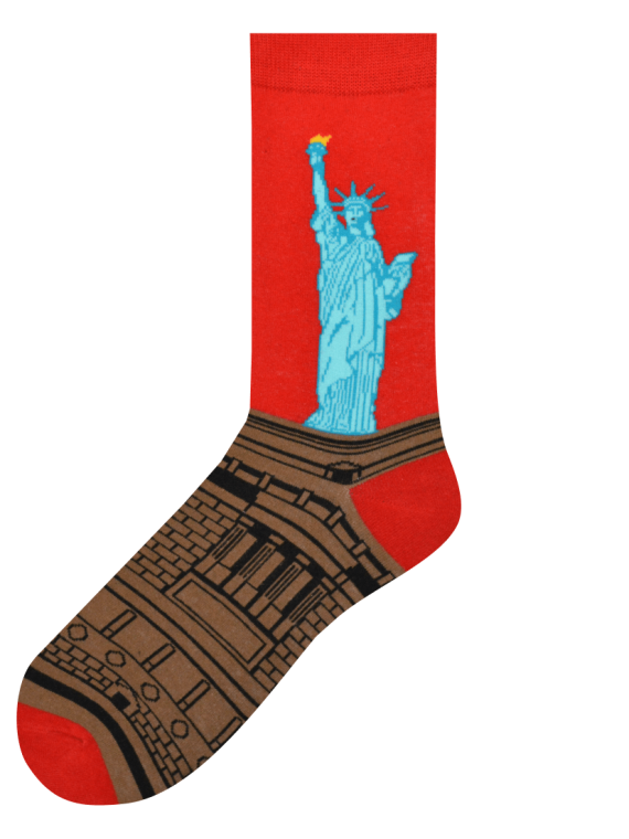 Medias Estatua de la Libertad