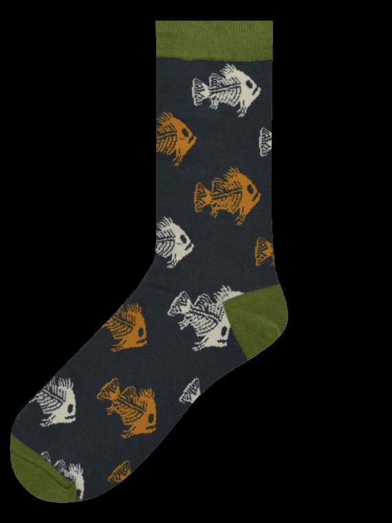 Medias Locas calcetines divertidos de diseño de pirañas Freaky Socks