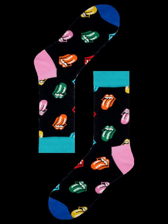 Medias Locas calcetines divertidos de diseño de Rolling Stones Freaky Socks