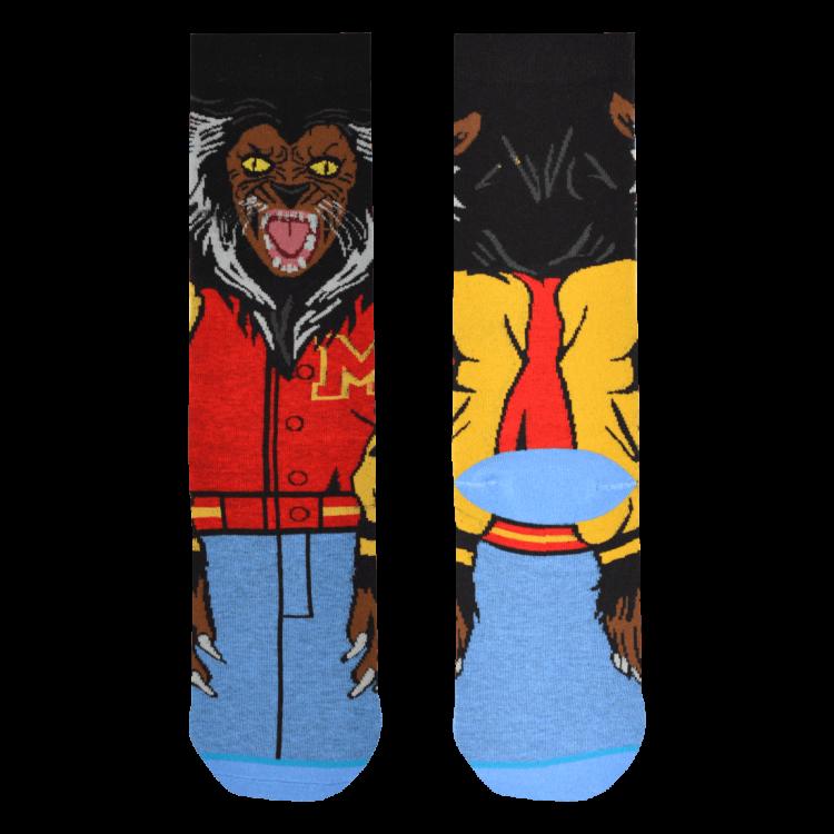 Medias Locas calcetines divertidos de diseño de Thriller de Michael Jackson Freaky Socks