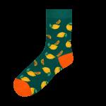 Medias Locas calcetines divertidos de diseño de lima limón Freaky Socks