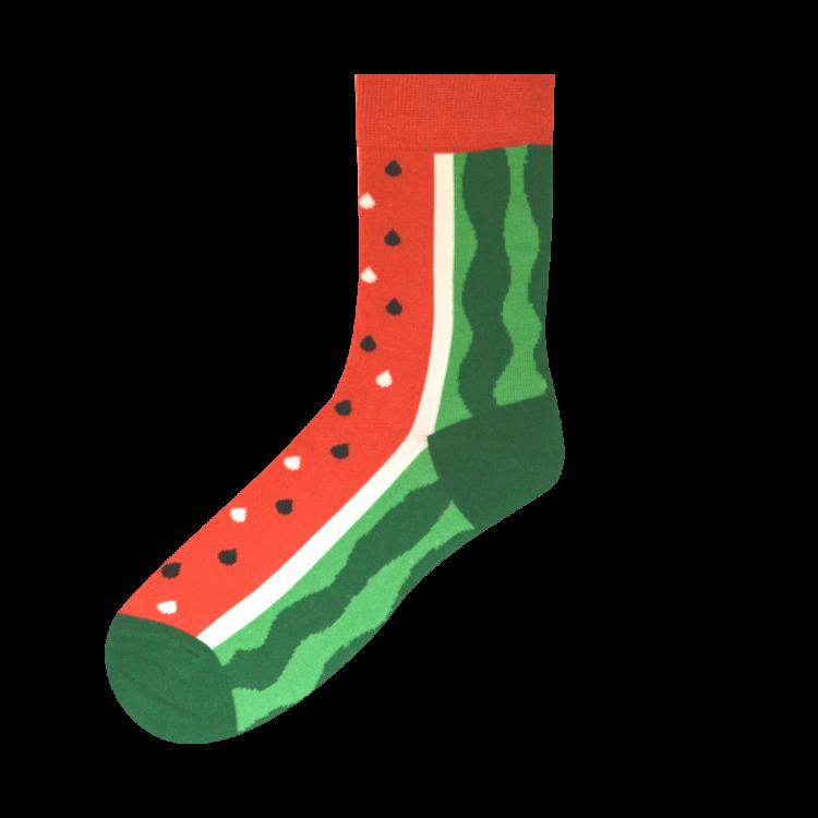 Medias Locas calcetines divertidos de diseño de sandía Freaky Socks