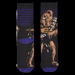 Medias Locas calcetines divertidos de diseño de Star Wars Chewbacca Freaky Socks