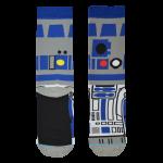 Medias Locas calcetines divertidos de diseño de Star Wars R2-D2 Freaky Socks