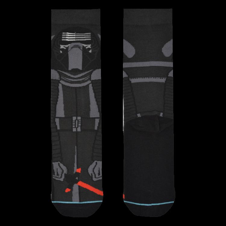 Medias Locas calcetines divertidos de diseño de Star Wars Kylo Ren Freaky Socks
