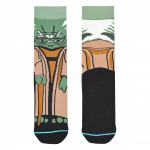Medias Locas calcetines divertidos de diseño de Star Wars Yoda Freaky Socks