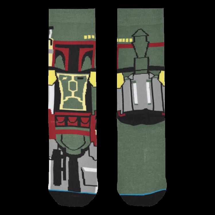 Medias Locas calcetines divertidos de diseño de Star Wars Boba Fett Freaky Socks
