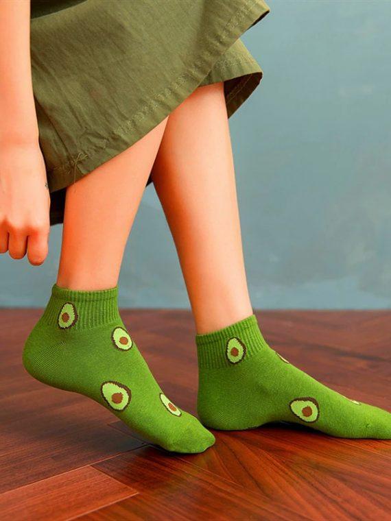 Medias Locas calcetines divertidos de diseño de aguacates Freaky Socks