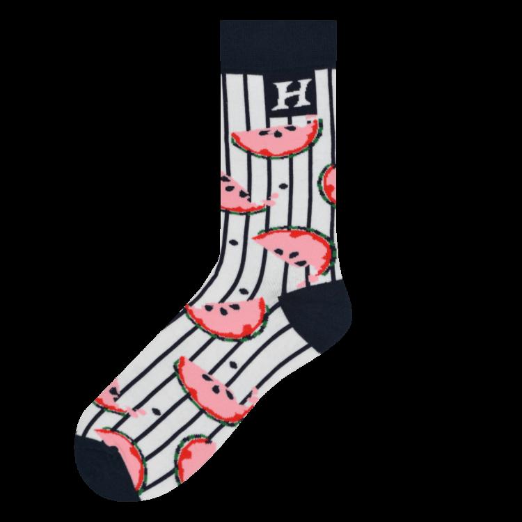 Medias Locas calcetines divertidos de diseño de Sandías Freaky Socks
