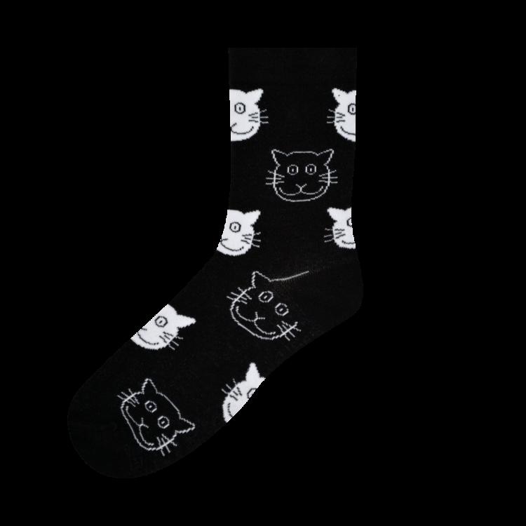 Medias Locas calcetines divertidos de diseño de gatos Freaky Socks