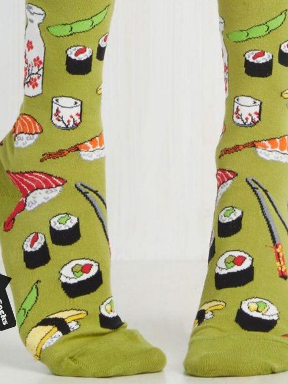 Medias Locas calcetines divertidos de diseño de sushi Freaky Socks