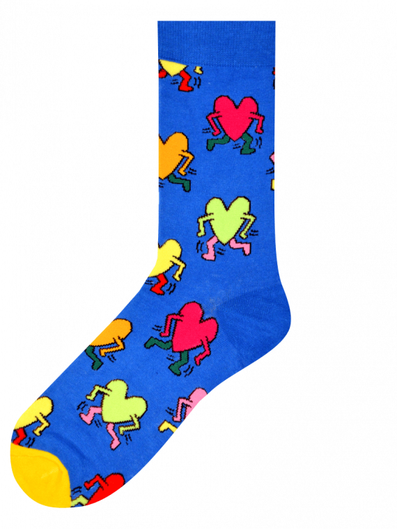 Medias Locas calcetines divertidos de diseño de amor fugaz Freaky Socks